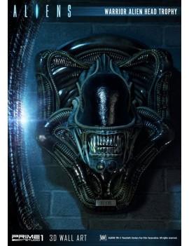 Aliens 3D Wall Art Warrior Alien Head Trophy 58 cm