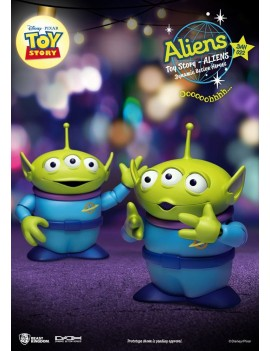Toy Story Dynamic 8ction Heroes Action Figure 2-Pack Aliens 12 cm