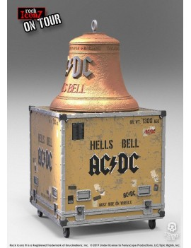 AC/DC Rock Ikonz On Tour Statues Hell's Bell