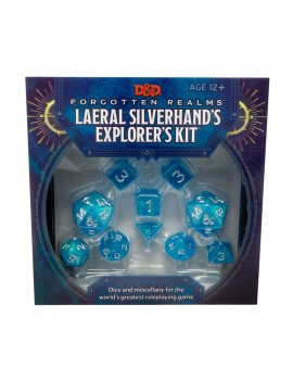 Dungeons & Dragons Forgotten Realms: Laeral Silverhand's Explorer Kit - Dice & Miscellany english