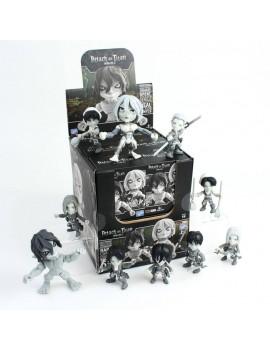 Attack on Titan Action Vinyl Mini Figures 8 cm TG Display (12)