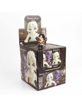 Attack on Titan Action Vinyl Mini Figures 8 cm TRU Display (12)