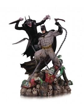 DC Comics Battle Statue Batman Who Laughs vs. Batman 33 cm