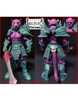 Mythic Legions: Wasteland Actionfigur Purrrplor 15 cm