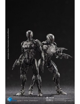 Robocop 2014 Action Figures 1/18 OmniCorp EM-208 Enforcement Droids 10 cm