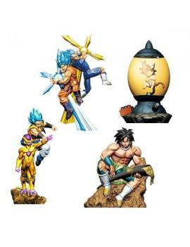 Dragonball Super Dracap Trading Figure 8 cm Re: Birth Super Power Ver. Assortment (4)