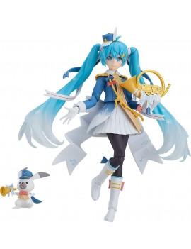 Character Vocal Series 01: Hatsune Miku Figma Action Figure Snow Miku Snow Parade Ver. 13 cm