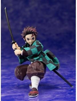 Demon Slayer: Kimetsu no Yaiba Action Figure 1/12 Tanjiro Kamado 14 cm