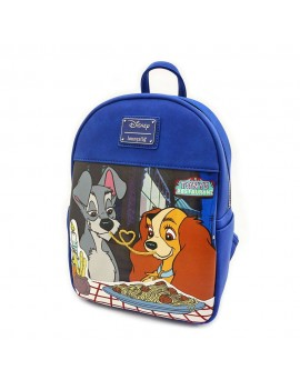 Disney By Loungefly Mini Backpack Lady And The Tramp Mondo Action Figure