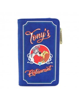 Disney by Loungefly Wallet Lady and The Tramp Tony's Menu
