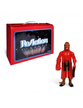Hellboy ReAction Carry Case with Action Figure Hellboy Clear Red Variant SDCC 2018