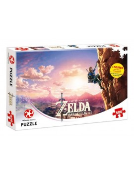 The Legend of Zelda Breath of the Wild Jigsaw Puzzle Climbing