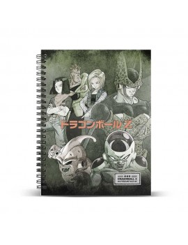 Dragon Ball Notebook A4 Evil