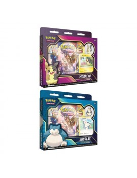 Pokémo Pin Collection 2020 Snorlax & Morpeko *English Version*