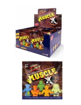 Street Fighter II MUSCLE Figures Blind Bags 4 cm Display (36)