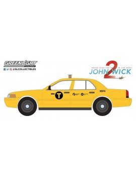 John Wick Chapter 2 Diecast Model 1/24 2008 Ford Crown Victoria Taxi
