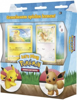Pokémon Let's Play! Pikachu & Eevee Theme Deck *German Version*