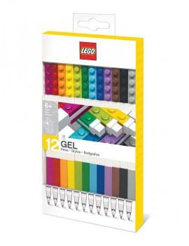 LEGO Gel Pens 12-Pack Bricks