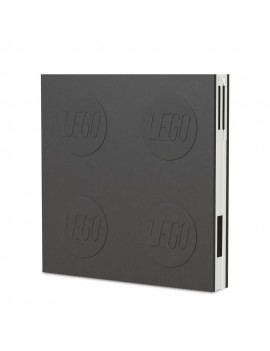 LEGO Notebook with Pen Black