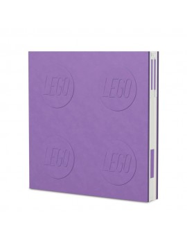LEGO Notebook with Pen Purple
