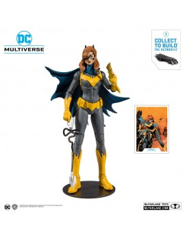 DC Rebirth Action Figure Batgirl Art of the Crime Multiverse