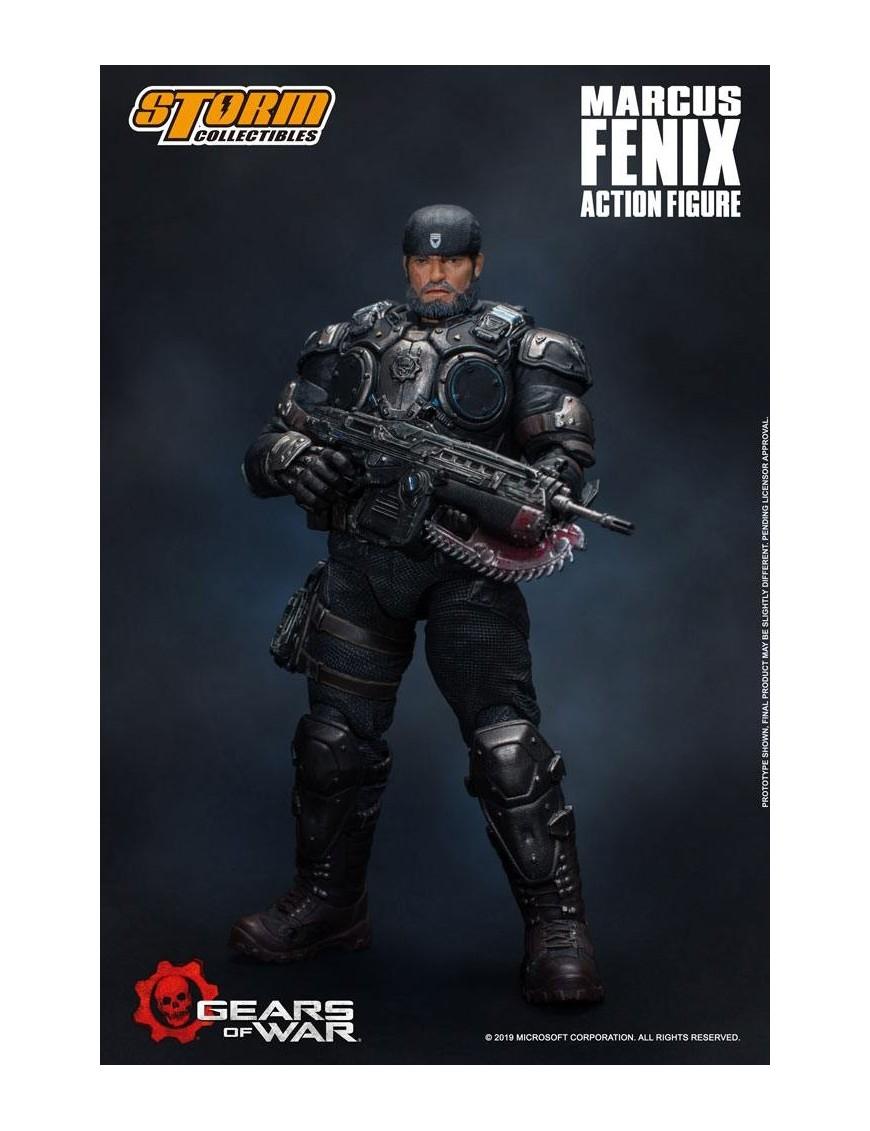Gears Of War 5 Action Figure 1 12 Marcus Fenix 16 Cm