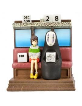 Spirited Away Perpetual Calendar Unabara Train *English Version*