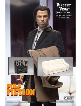 Pulp Fiction My Favourite Movie Action Figure 1/6 Vincent Vega 2.0 (Pony Tail) Deluxe Version 30 cm