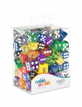 Oakie Doakie Dice RPG Set Retail Pack 12 mm, 16 mm Mixed (100)