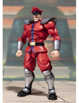 Street Fighter S.H. Figuarts Action Figure M. Bison Tamashii Web Exclusive bandai italia