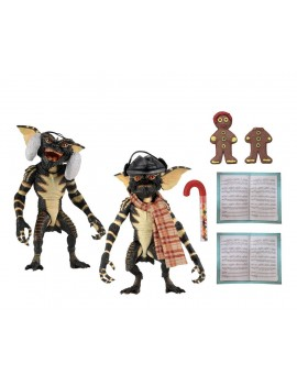 Gremlins Action Figure 2-Pack Christmas Carol Winter Scene Set 2