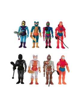 Masters of the Universe ReAction Action Figures 10 cm Snake Mountain Blind Box Display (12)