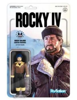 Rocky 4 ReAction Action Figure Rocky (Winter Training) 10 cm
