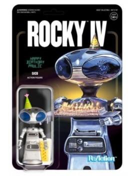 Rocky 4 ReAction Action Figure Sico Paulie's Robot 10 cm