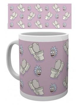 Rick and Morty Mug Toilet