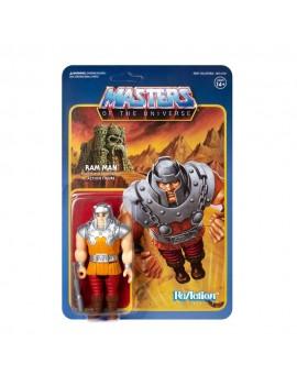 Masters of the Universe ReAction Action Figure Ram Man (Mini Comic) 10 cm