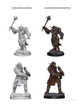 D&D Nolzur's Marvelous Miniatures Unpainted Miniatures Bugbears Case (6)