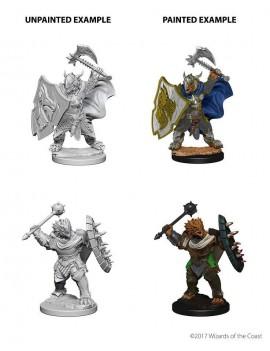 D&D Nolzur's Marvelous Miniatures Unpainted Miniatures Dragonborn Male Paladin Case (6)