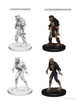 D&D Nolzur's Marvelous Miniatures Unpainted Miniatures Zombies Case (6)