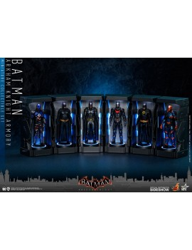 Batman: Arkham Knight Miniature Collectible Set Armory 12 cm