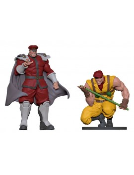 Street Fighter PVC Statues 1/8 Bison & Rolento