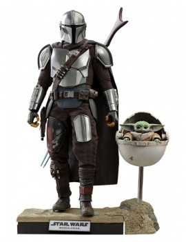 Star Wars The Mandalorian Action Figure 2-Pack 1/6 The Mandalorian & The Child Deluxe 30 cm