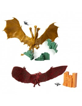 Godzilla King of the Monsters Monster Packs Action Figure 15 cm Assortment (4)