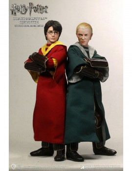 Harry Potter Action Figure 1/6 2-Pack Harry Potter & Draco Malfoy 2.0 Quidditch Ver. 26 cm