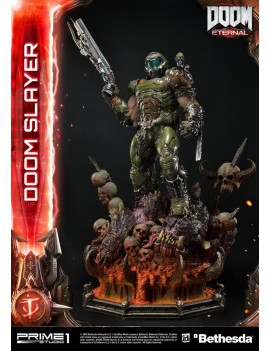 Doom Eternal Statue Doom Slayer 108 cm