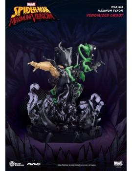 Marvel Maximum Venom Collection Mini Egg Attack Figure Venomized Groot 9 cm