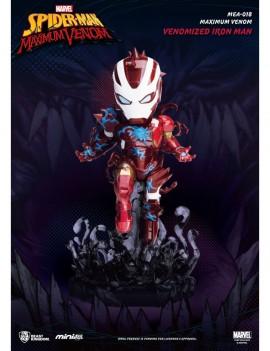 Marvel Maximum Venom Collection Mini Egg Attack Figure Venomized Iron Man 14 cm