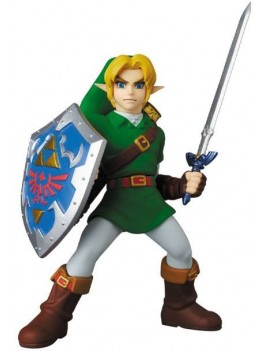Legend Of Zelda UDF Mini Figure Link Ocarina of Time Ver. 8 cm