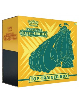Pokémon Sword and Shield Rebel Clash Top-Trainer-Box *German Version*