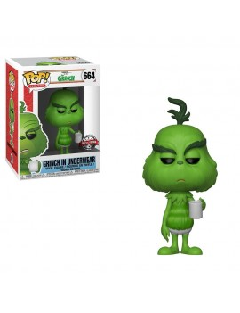 The Grinch 2018 POP! Movies Vinyl Figure The Grinch in Underwear  9 cm